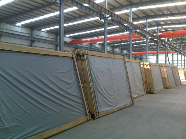 Laminated glass safety packing