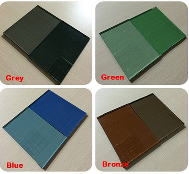 Good quality 10mm tinted float glass