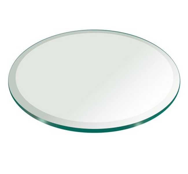 round tempered glass supplier