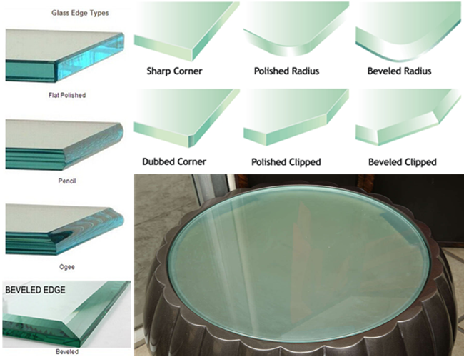 High quality acid etched tempered glass table tops prices