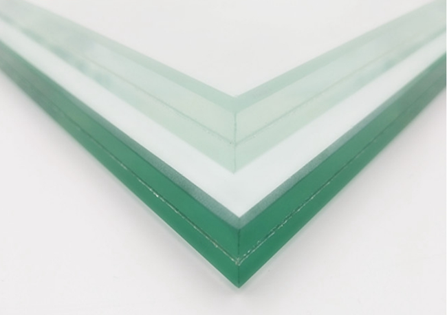 clear low iron temepred laminated glass for glass balustrade