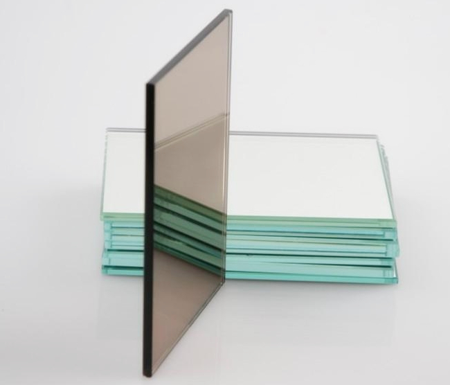 silver mirror glass
