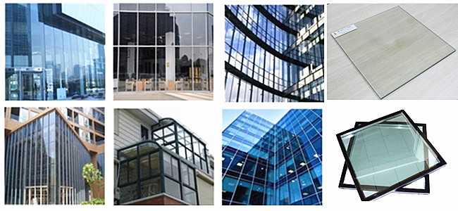 low-e insulated glass curtain wall