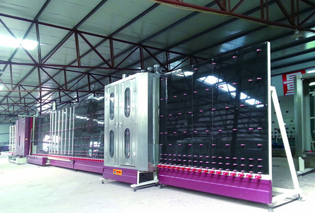 insulated glass machine
