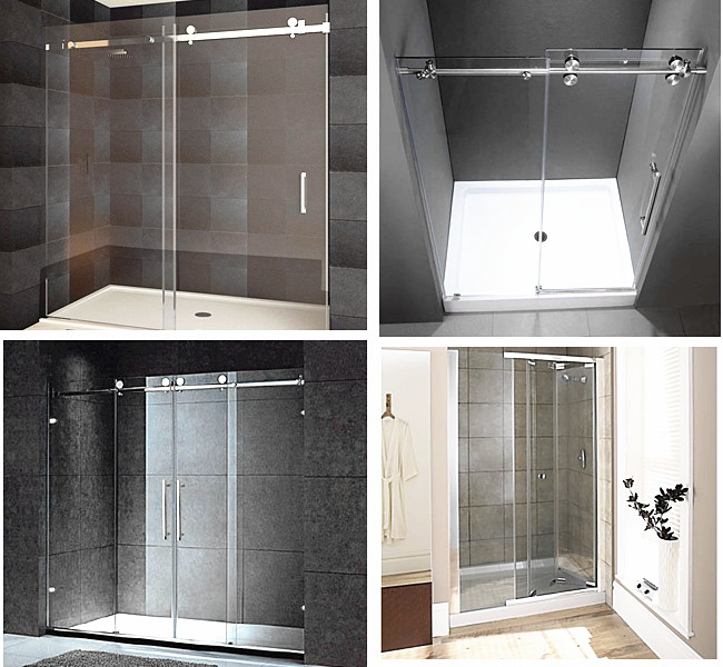 12mm extra transparent low iron tempered glass shower door