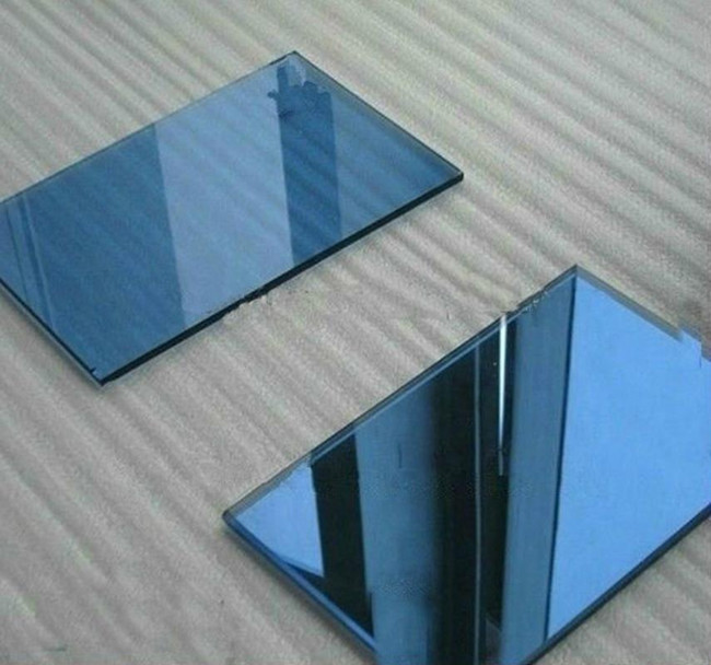 blue reflectve glass manufacturer in China