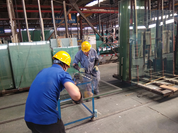 repair laminated glass PVB on edges