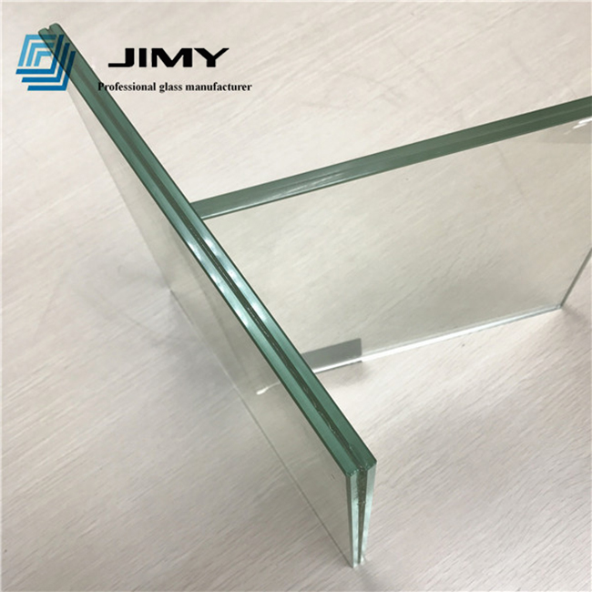 11.14mm clear tempered laminated glass