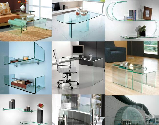 high quality curved glass manufacturers price