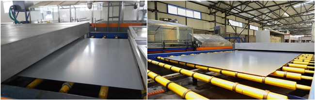 4mm mirror glass production plant
