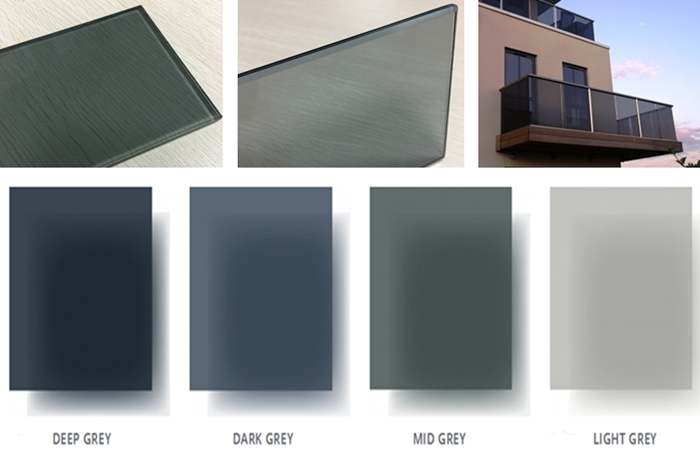 6.38mm grey laminated glass price