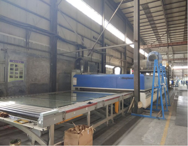 curved tempered glass production line