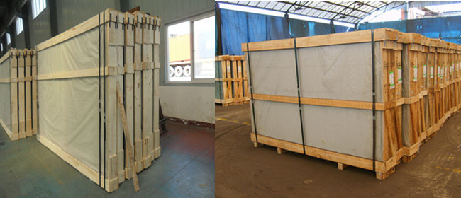 clear float glass safety packing