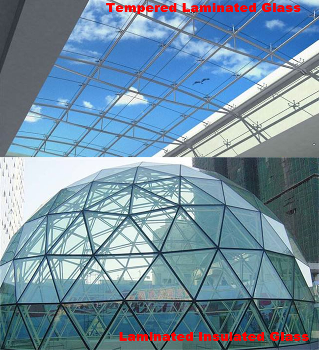 Safety glass roof manufacturer in China
