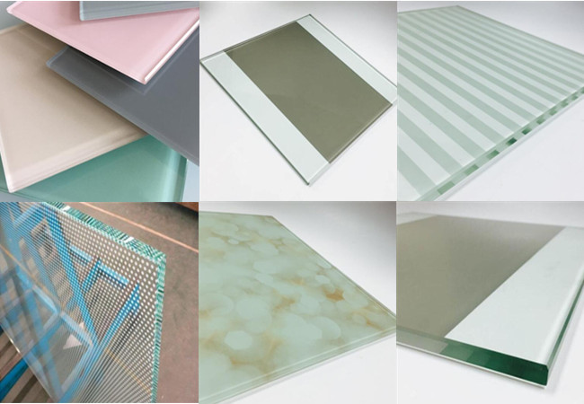 8mm 10mm printed tempered glass manufacturers