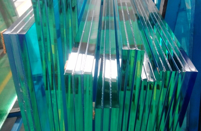 staircase triple safety tempered laminated glass treads