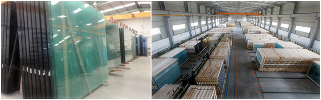 2mm clear float glass company in China