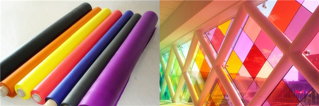 China colorful pvb laminated glass factory