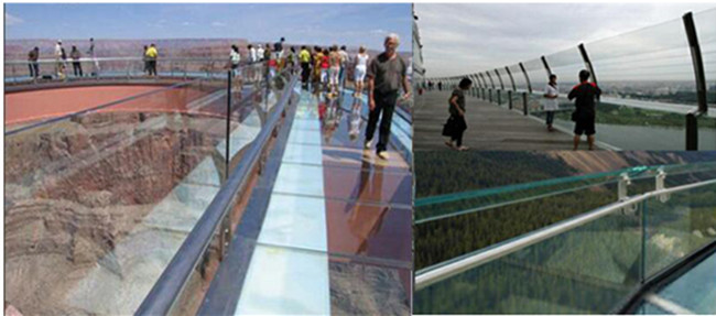 China safety SGP laminated glass balustrade