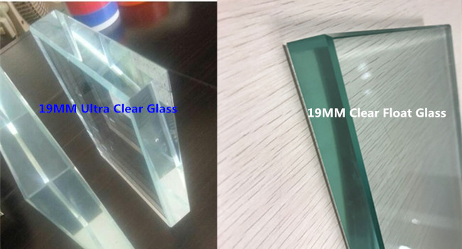 19mm ultra clear float glass price