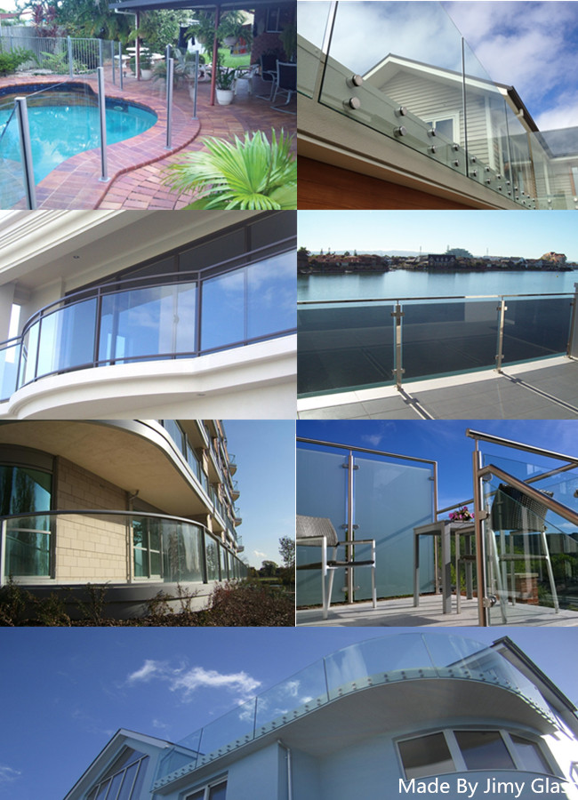 high quality balustrade glass manufacturer China