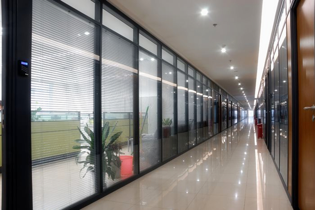partition wall tempered glass