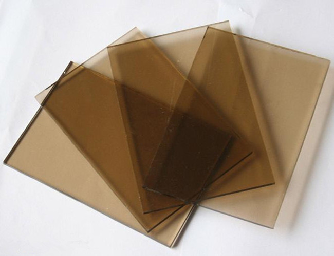 Euro bronze tinted float glass 5.5mm thickness
