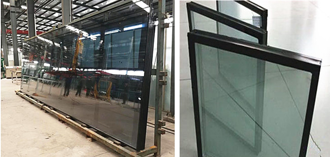 Jumbo size low E insulated glass