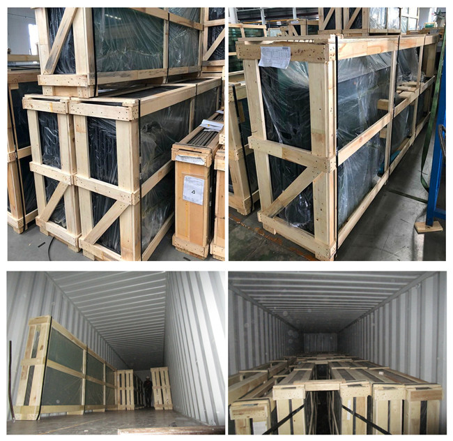 sgp laminated glass floors packing and loading