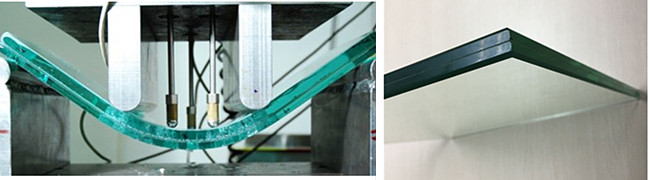 17.52mm SGP toughened laminated glass elevator