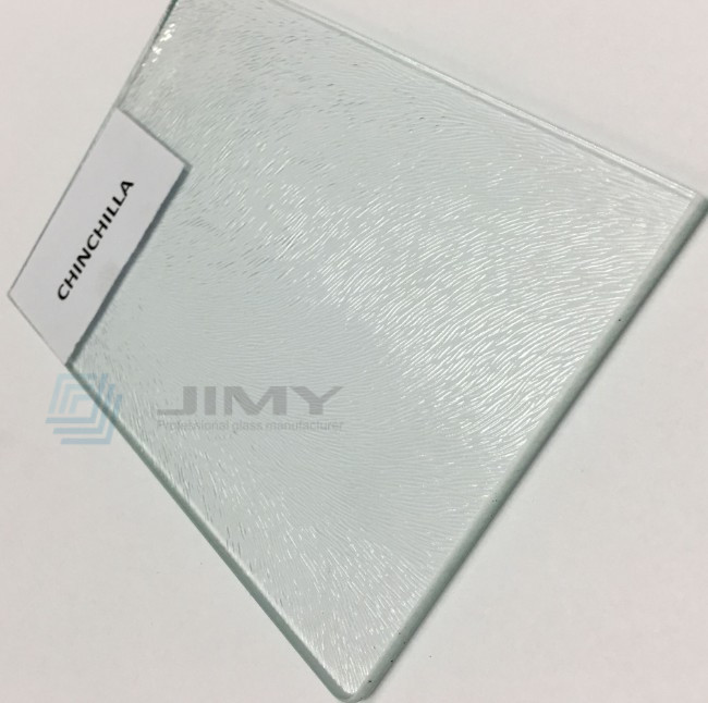 4mm Chinchilla embossed glass manufacturer