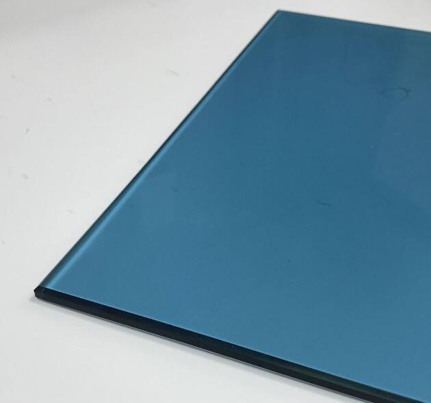 5mm light blue tempered glass prices