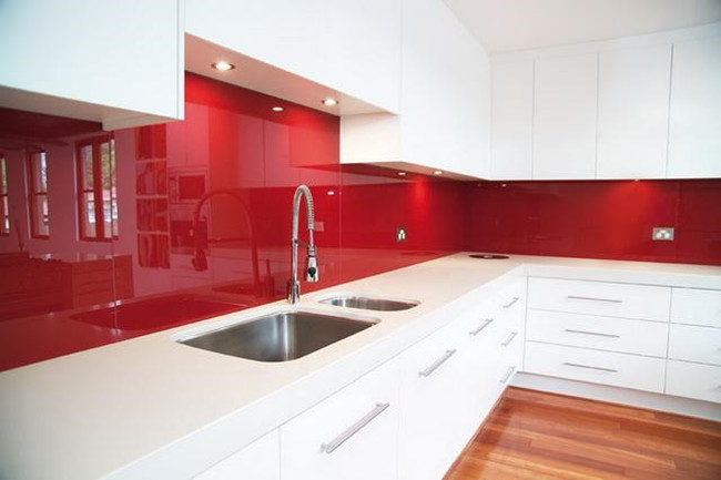 China Lacquered Glass Splashbacks