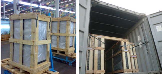 laminated tempered glass packing