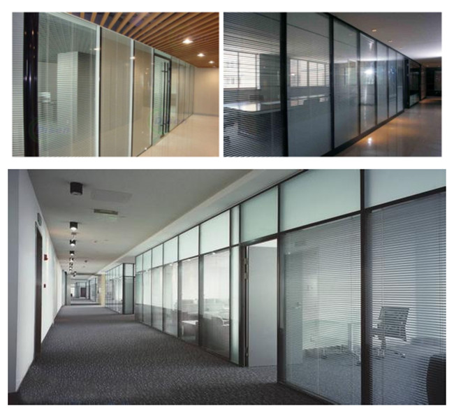 insulating fire-resistant glass partition