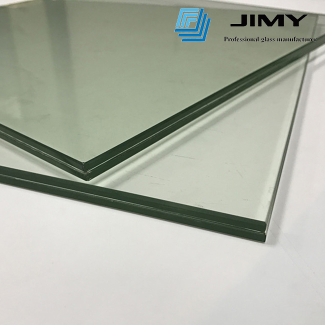 8.76mm clear tempered laminated glass