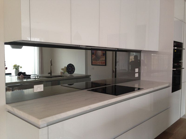 High quality mirror glass Splashbacks