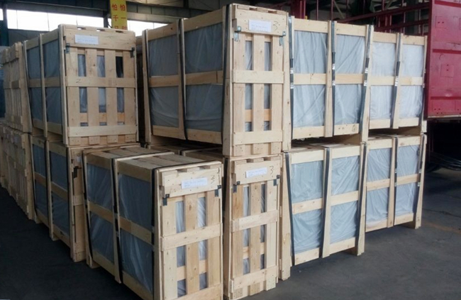 6mm clear toughened glass safety packing
