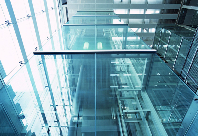 safety laminated glass walls