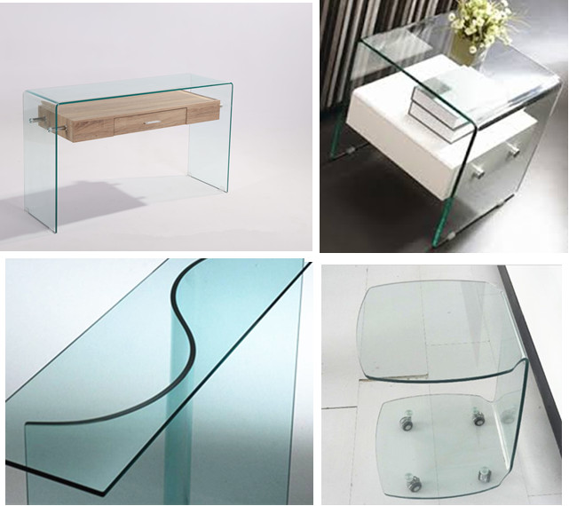 bent furniture glass supplier in China