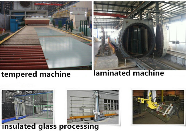 processing tempered laminated insulated glass