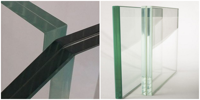 compare normal clear and ultra clear laminated glass