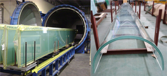flat and curved oversized security laminated glass factory