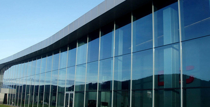 safety laminated glass curtain wall