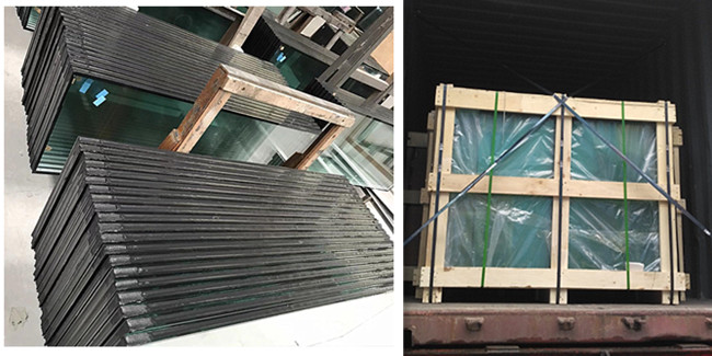 Customize size SGP laminated insulated glass