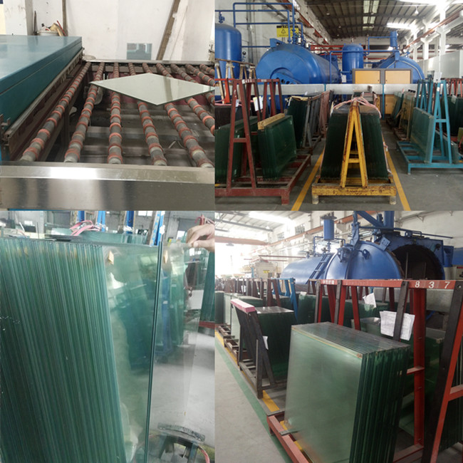 Cheap price laminated glass manufacturer china