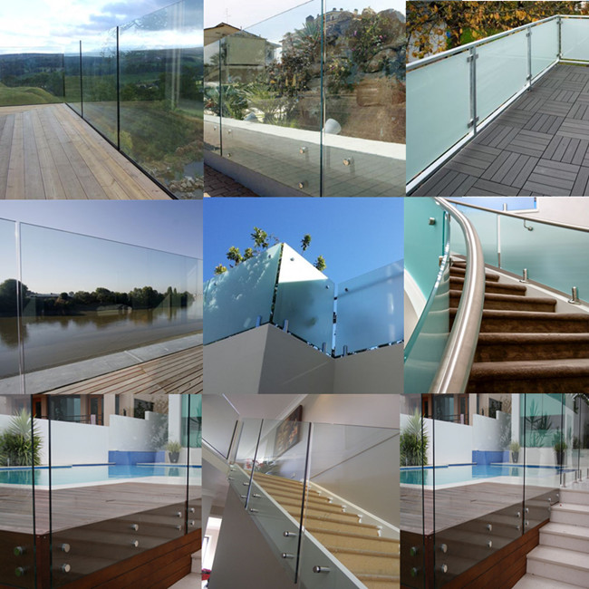 China 19mm tempered glass balustrade factory