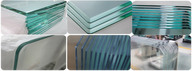 China 5mm clear tempered glass