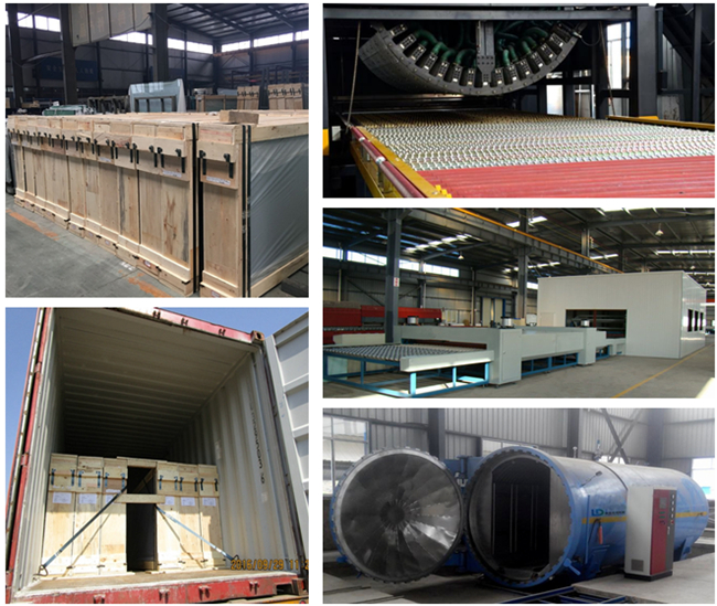21.52mm curved safety laminated glass manufacturer