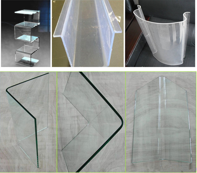 special-shaped hot bent glass
